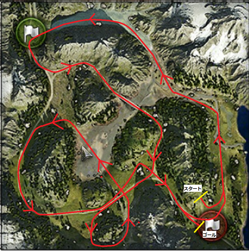 山岳路MAP