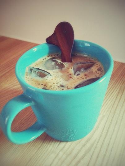 コーヒー豆乳