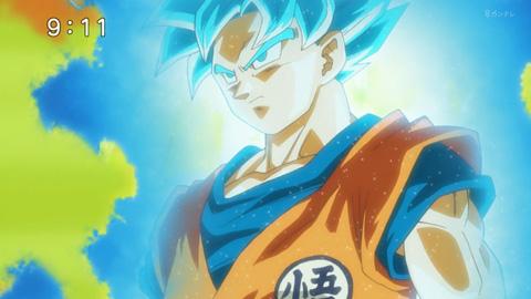 ドラゴンボール超46話感想 スーパーサイヤ人ブルー悟空