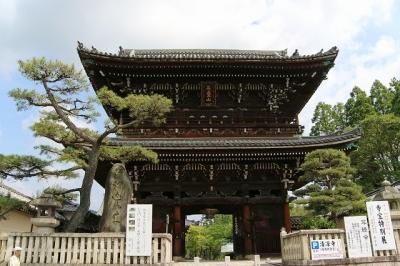清凉寺・仁王門