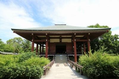 中宮寺・本堂