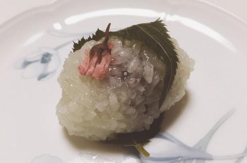 2016-04-09池田屋の桜餅