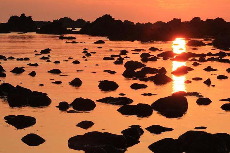 七浦海岸暮景1