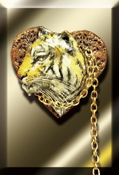 毘沙門天の虎