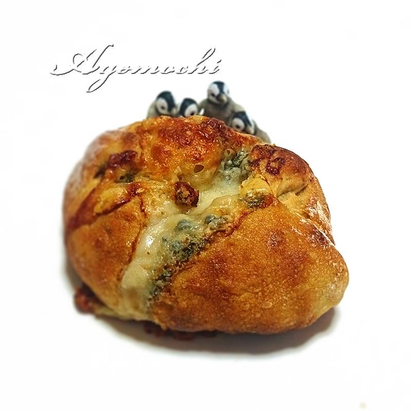 ゴルゴンゾーラ入りのパン