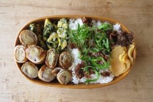 生姜肉巻き弁当