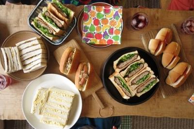 サンドイッチパーティー