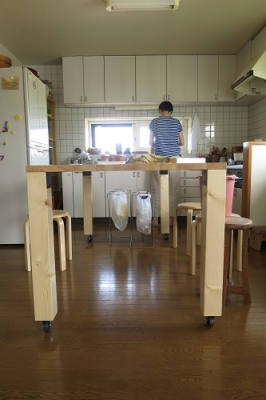 調理台完成!2