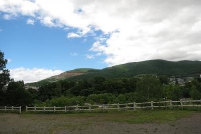 朝里川公園の景色