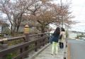 氷川橋にて