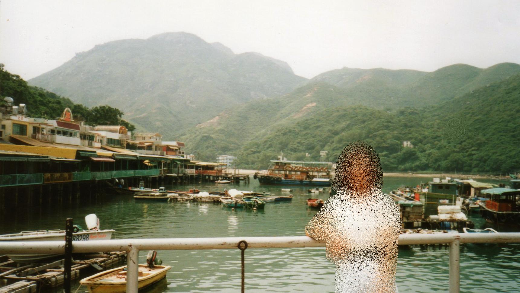 香港 ラマ島(1995年9月)①-1