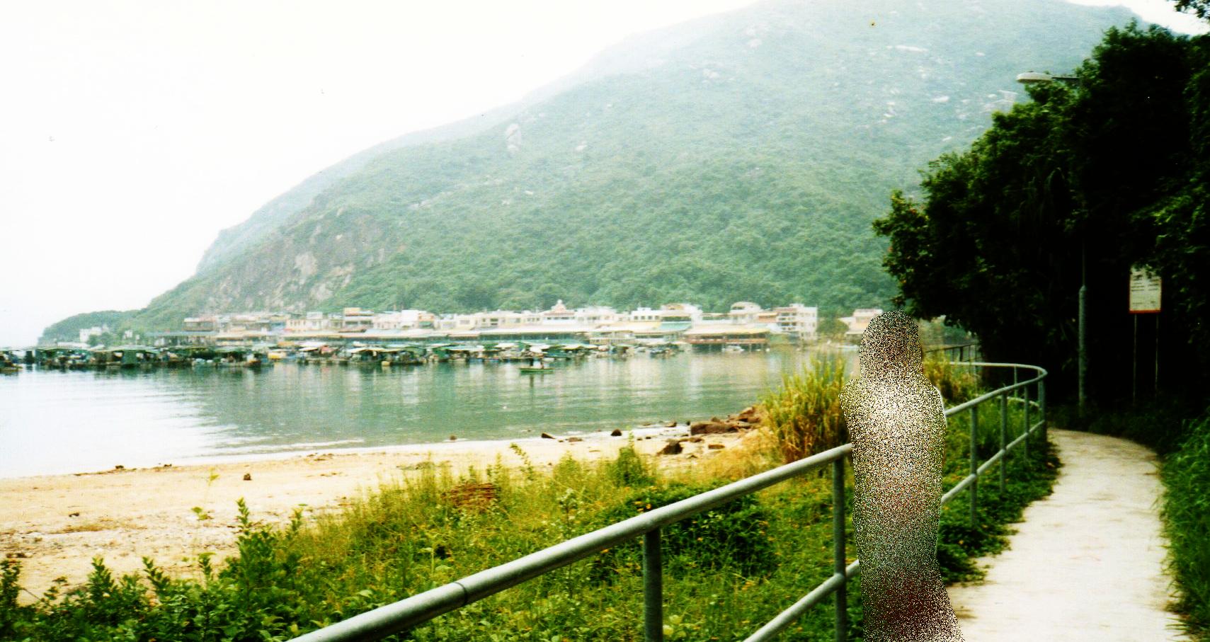 香港 ラマ島(1995年9月)②-1