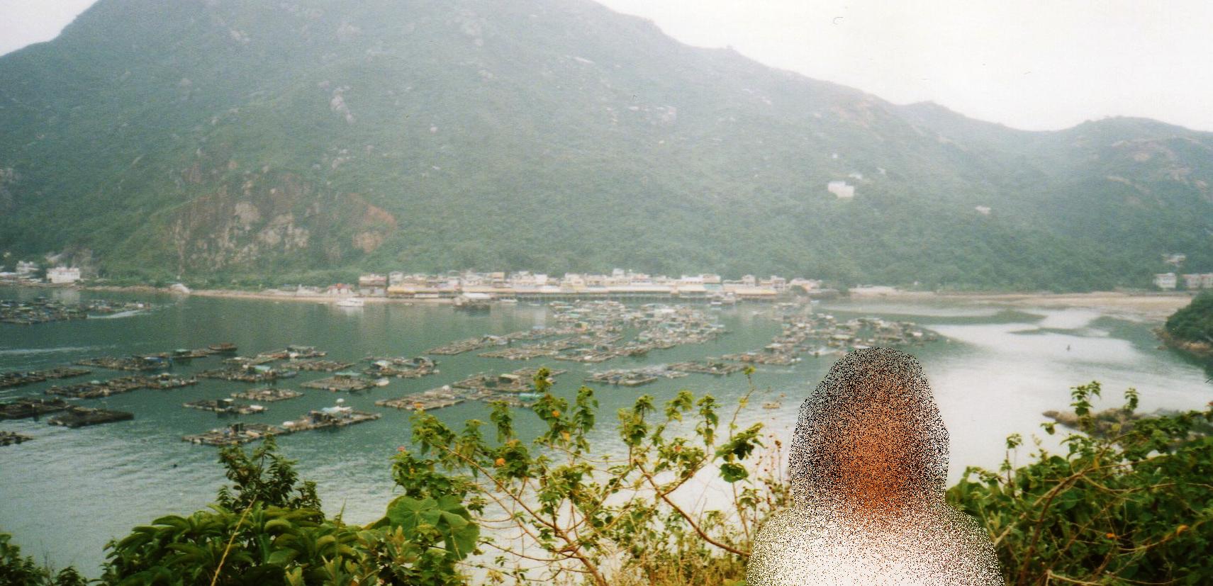 香港 ラマ島(1995年9月)③-1