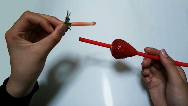 苺の経ての撮り方③-1