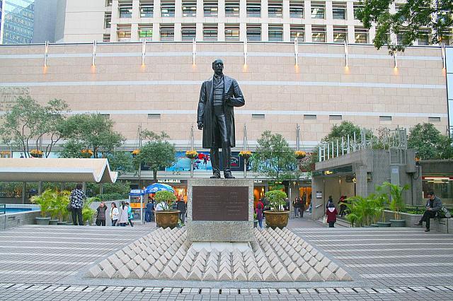 香港セントラル・皇后像広場