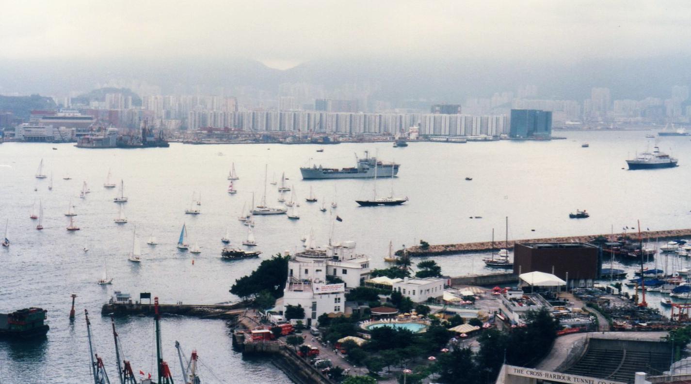 香港 返還の日(1997年7月1日)①-1