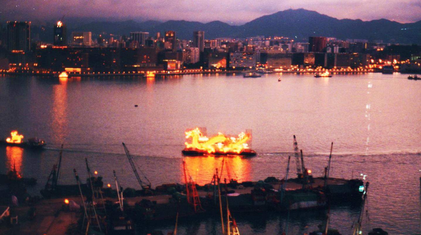 香港 中国返還の日⑨-1