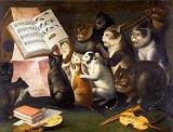 Ferdinand van Kessel Chats Chanteurs.jpg
