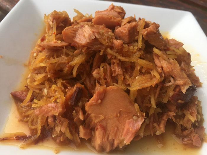 かつおの生姜煮-皿盛り-1