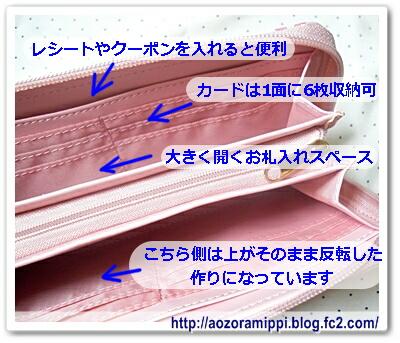 財布の内部説明1