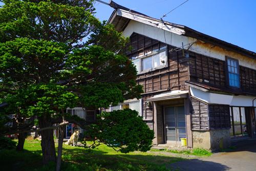 天売島の古民家