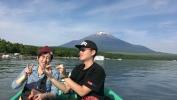 山中湖 朝