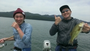山中湖 大爆笑