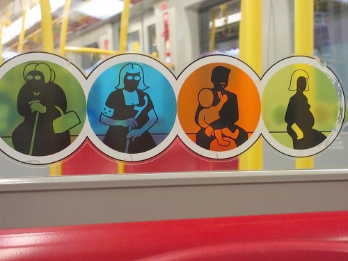 ウィーン地下鉄サイン