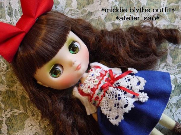 ◆ミディブライス服◆アルプスでお花摘み1