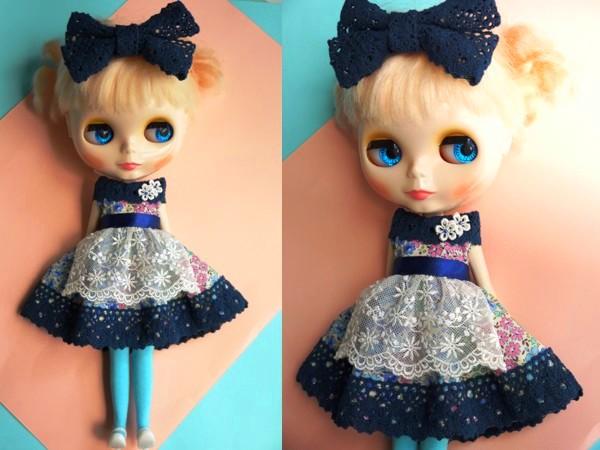 ◆ネオブライス◆青花柄ふんわりドレス2