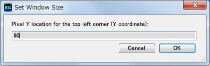 Borderless Gaming 8.4 を使って DX11 版 Dark Souls II Scholar of the First Sin をアスペクト比を維持したまま、WXUGA モニター(1920x1200)でボーダーレスフルスクリーン(仮想フルスクリーン)にする方法、WXUGA モニター(1920x1200)でゲーム画面の表示位置を画面中央になるようにしたい場合は Pixel Y location for the top left corner (Y coordinate) で 60 をセット、WXUGA モニター(1920x1200) の 1200 と フル HD (1920x1080) の 1080 の差分、120(1200-1080) の半分