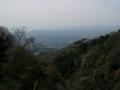 160409御斉峠へ、西山、島ヶ原方面の眺望