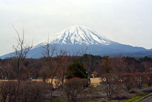 活き活き広場方面富士山