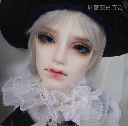 サーシャ:Charmdoll jianliヘッド+Charmdol 71男ボディ(美白)
