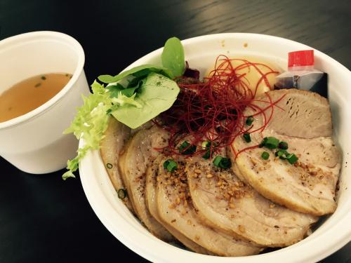 3食限定チャーシュー丼