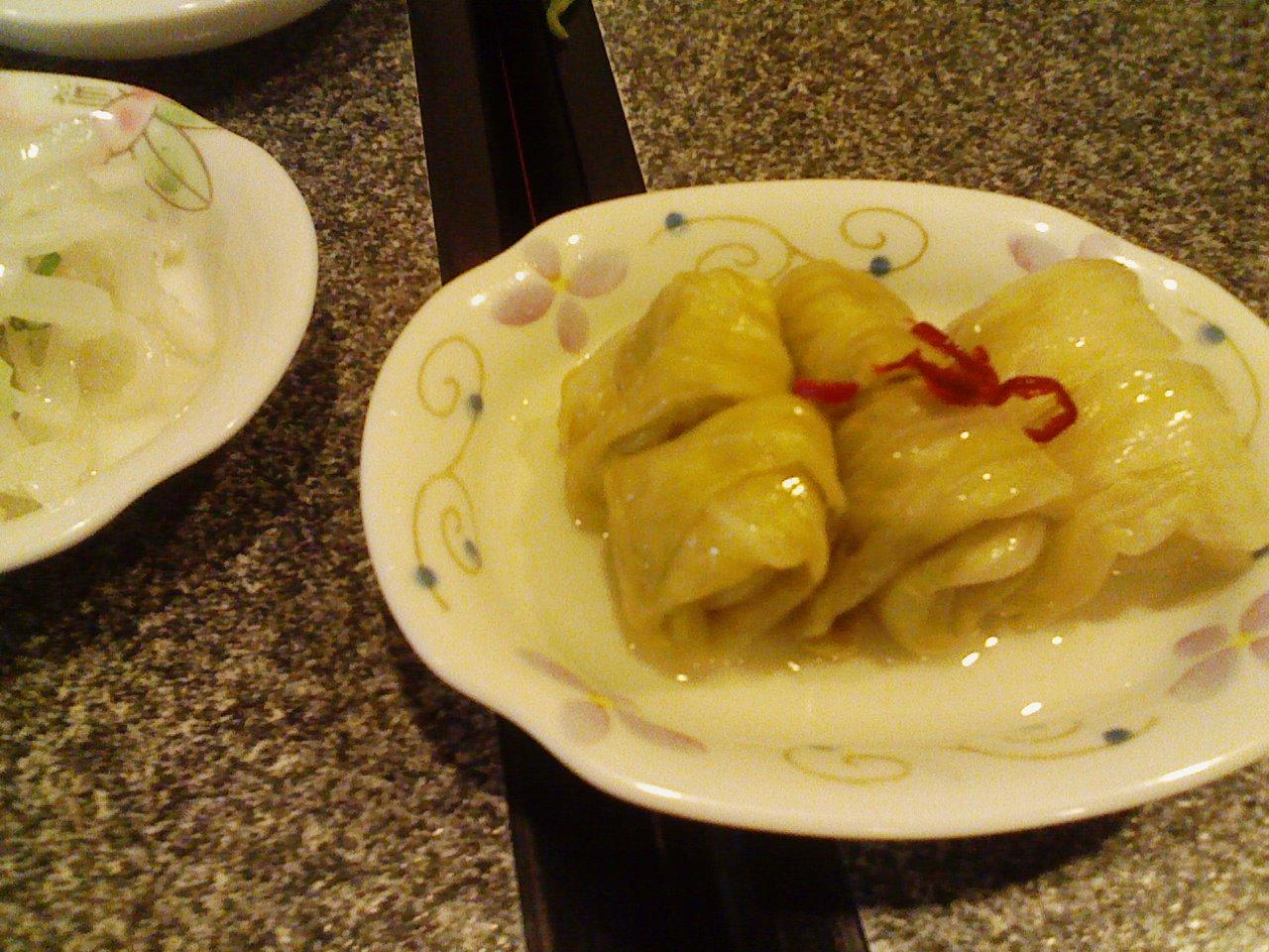 キャベツの中華風甘漬け