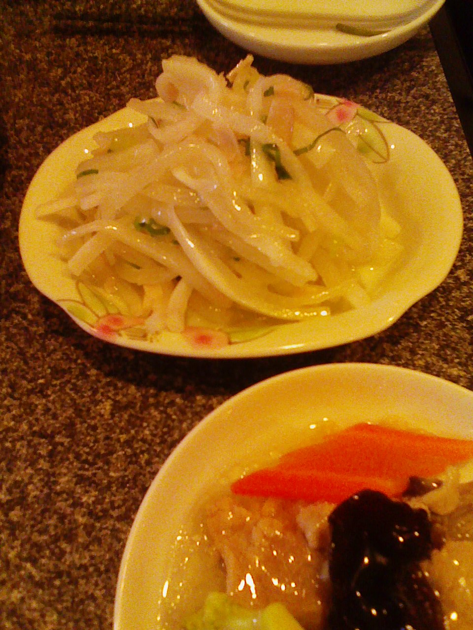 上海サラダ&海鮮おこげ