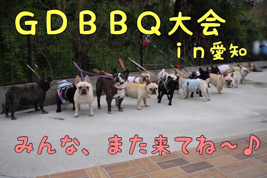 GD犬舎のBBQ 8