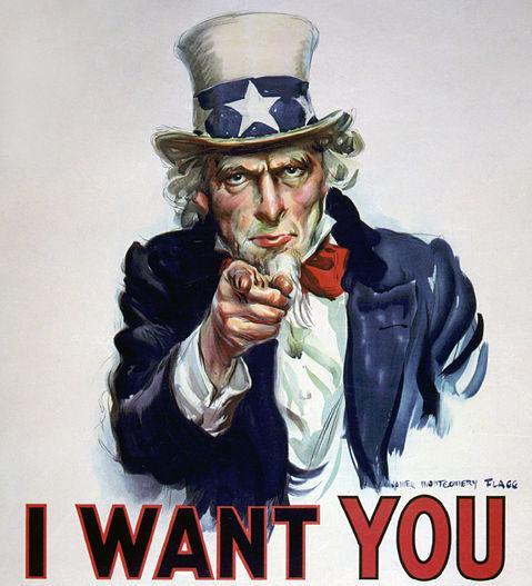 アンクル・サム(Uncle Sam)は、アメリカ合衆国を擬人化した架空の人物。