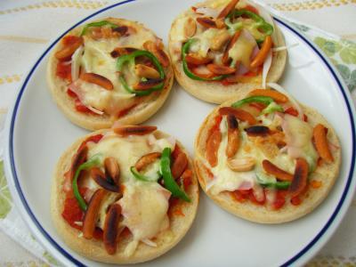 柿の種Pizza