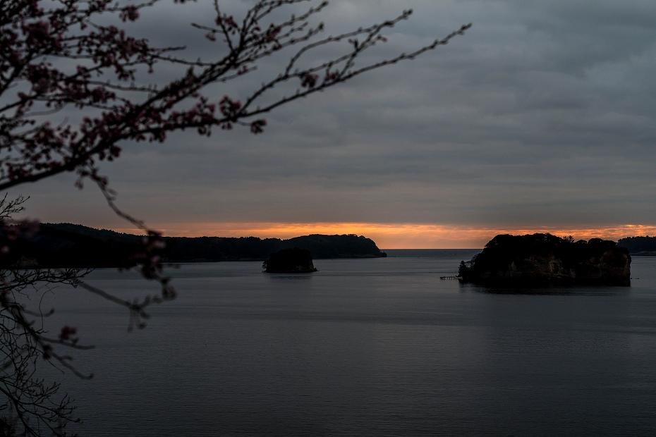 2016.04.05能登島からの朝日4