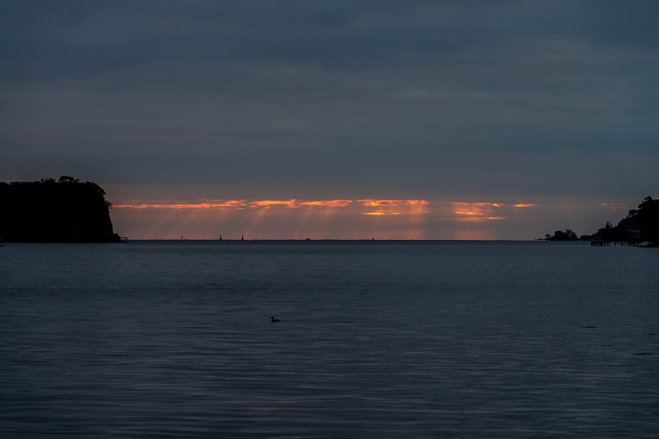 2016.04.05能登島からの朝日1