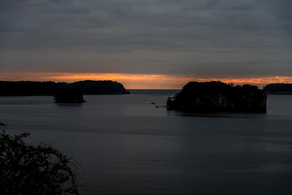 2016.04.05能登島からの朝日3