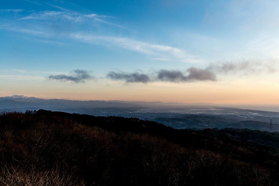 2016.04.05宝達山からの夕景4