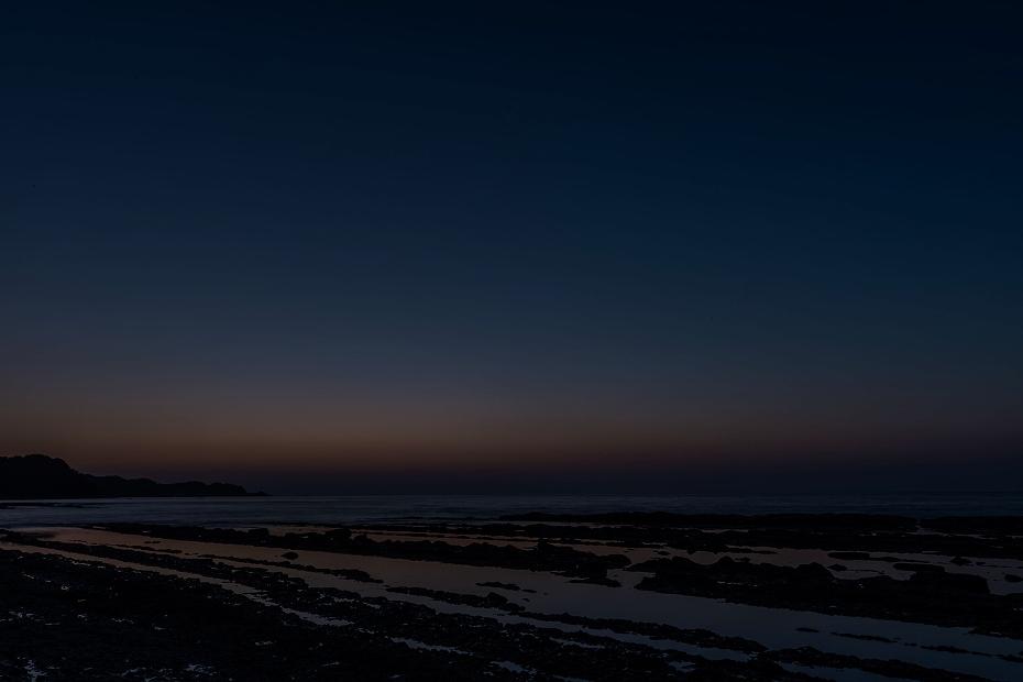 2016.04.08禄剛崎からの夕日8.1840
