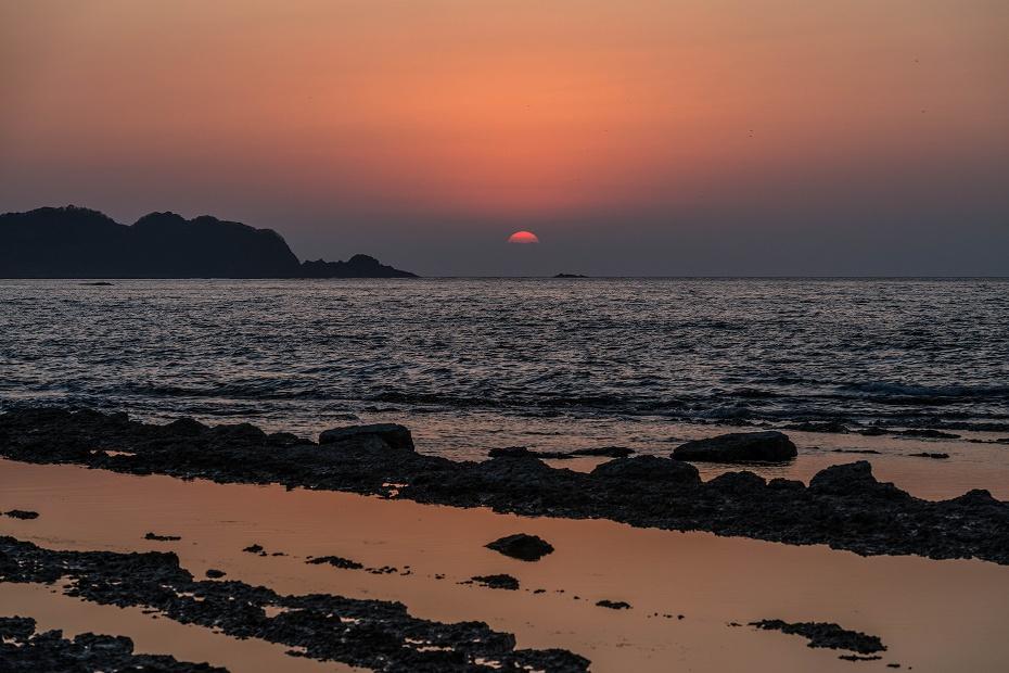 2016.04.08禄剛崎からの夕日6.1815