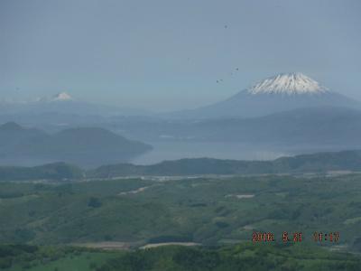 縮小2洞爺湖と羊蹄山
