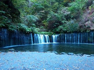 白糸の滝@軽井沢_その2
