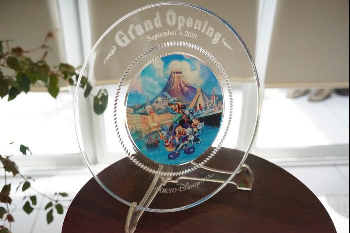 TDS グランドオープニング ガラスプレート 非売品 2