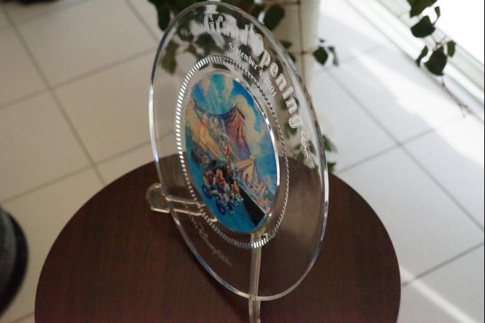 TDS グランドオープニング ガラスプレート 非売品 6